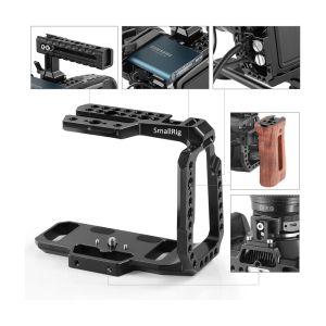 SmallRig CVB2254B | Mezza gabbia per Blackmagic Pocket Cinema Camera 4K e 6K | Cage | Shoulder Rig