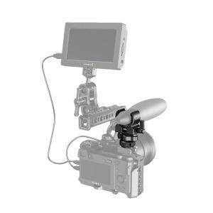 SmallRig BSM2352 | Supporto per microfono tipo fucile con attacco cold shoe | Accessori