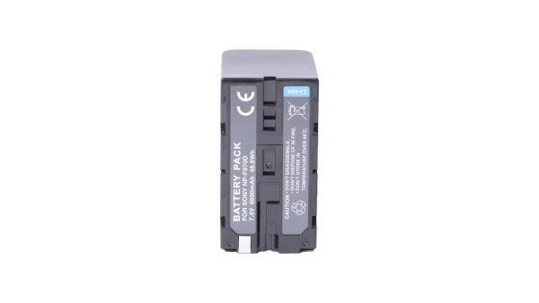 BrowdyTech BRD NPF970D | Batteria NP F970D per Sony HDV/HVR | Batterie per Sony