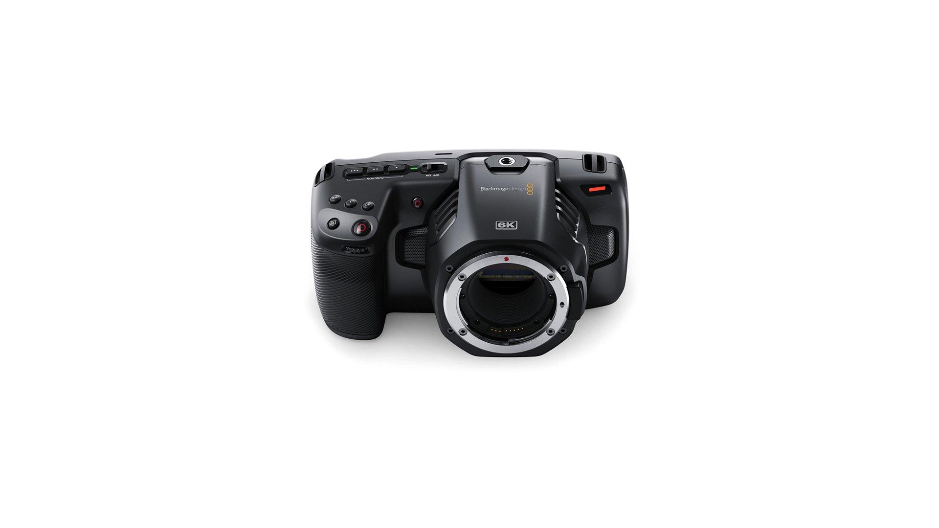 Blackmagic Cinecampochdef6k Blackmagic Pocket Cinema Camera 6k Camcorders Cameras Martcom Eu