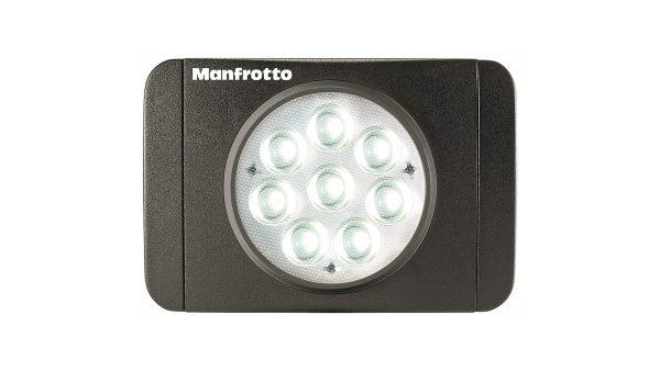 Manfrotto MLUMIEMU BK | Luce LED On camera LUMIMUSE 8 | Luci LED