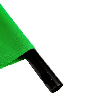 BrowdyTech BRD TELOGRN3X6   Fondale Chromakey verde per video 3 x 6 m   Fondali