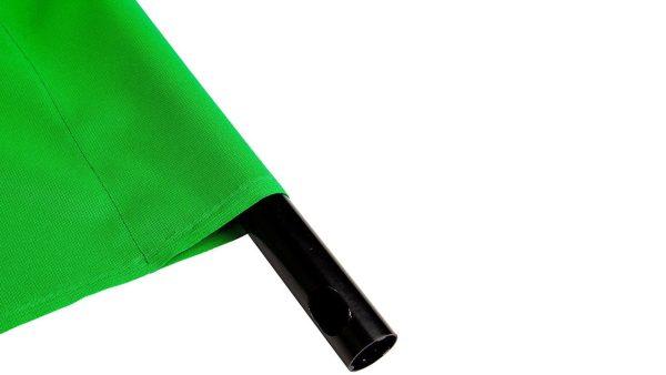 BrowdyTech BRD TELOGRN3X6 | Fondale Chromakey verde per video 3 x 6 m | Fondali