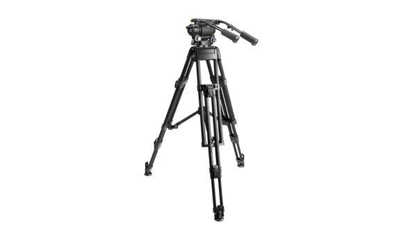 E image MOTUS32 | MOTUS32 Kit treppiede video e testa fluida MH32 per telecamere con portata fino a 32 kg | Kit con gambe